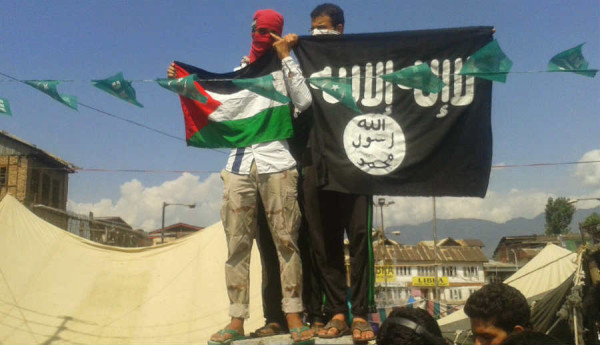 ISIS Flag in Srinagar