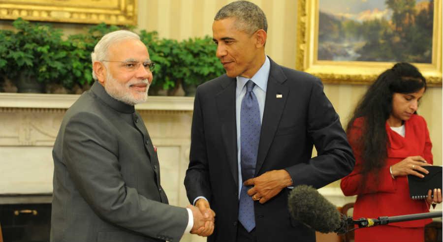 Narendra Modi - Barack Obama